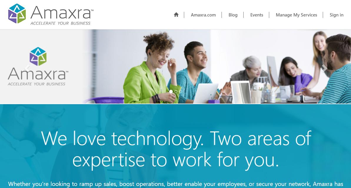 amaxra self service portal