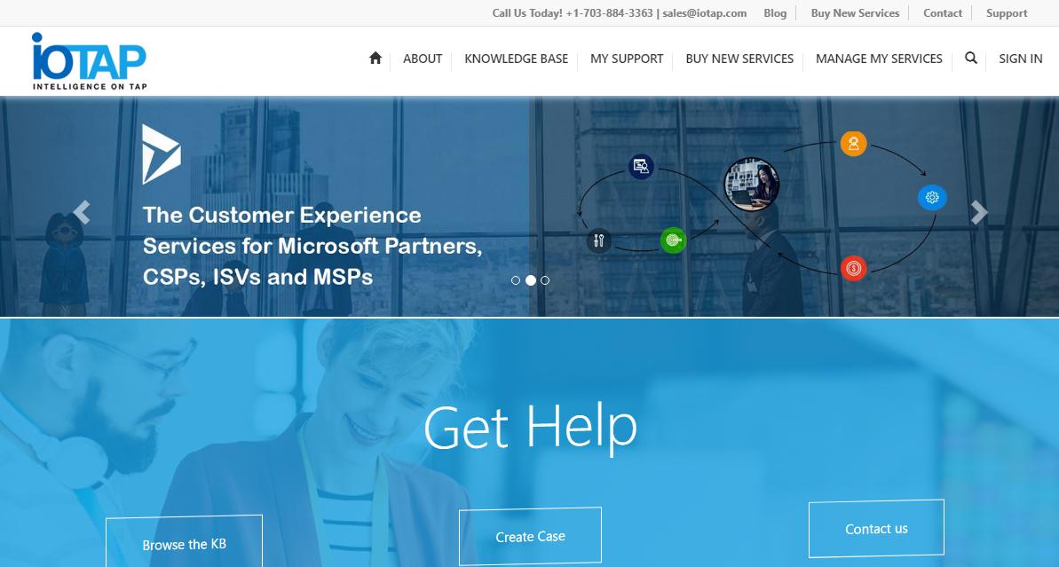 iotap self service portal